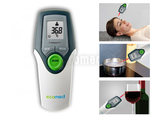 Ecomed Infrarot-Thermometer TM 65E