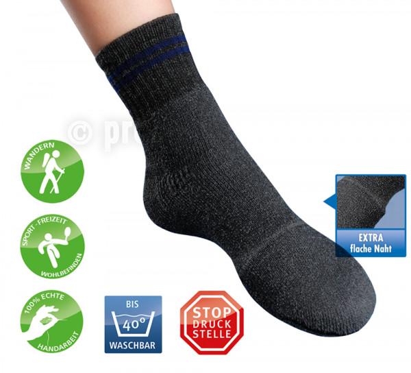 Frottee-Socken mit Polsterkappe
