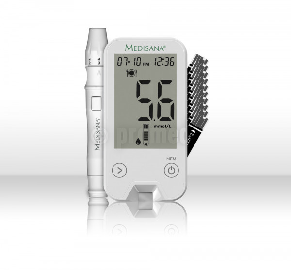 Meditouch 2 mmol/Int Blutzuckermessgerät