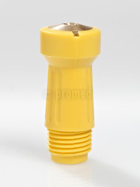 Steckspannzange - gelb